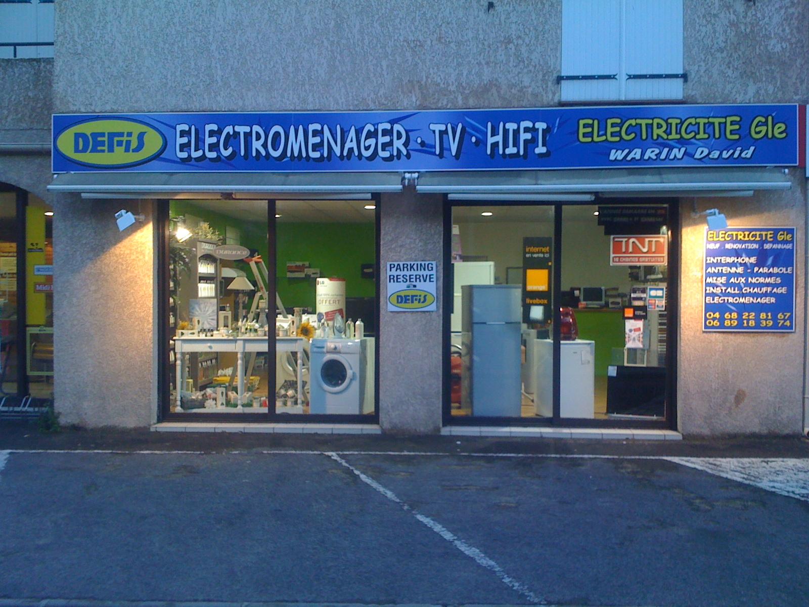 Electroménager Produits de la maison Magasin DEFIS